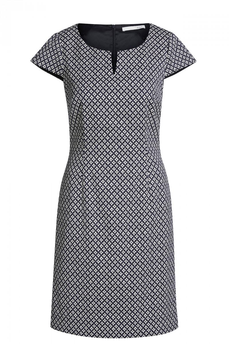 dress minimalistic jacquard