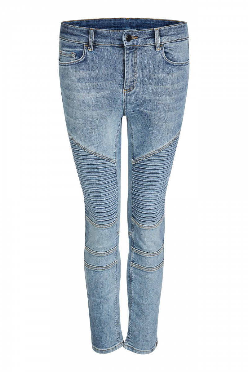 biker skinny denim
