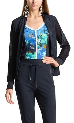 stretch-blazer-with-mesh-sleeves