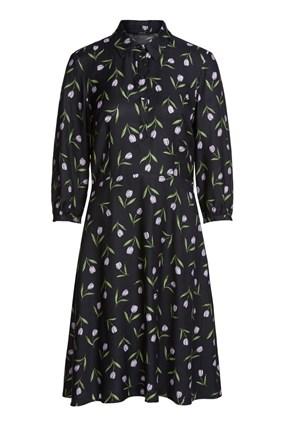 elegant-midi-dress-with-a-tulip-print